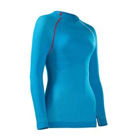 Cube Teamline Funktionsunterhemd langarm Damen blue'n'white'n'red